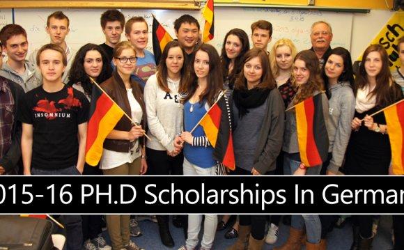 2015-16 Scholarships In