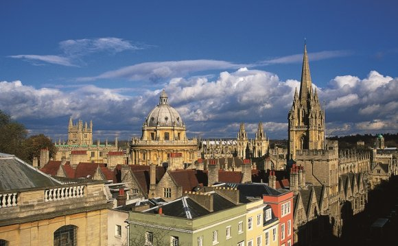 Dreaming Spires from High