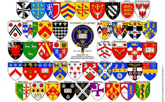 Heraldry of University of