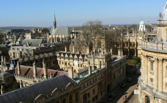 University of Oxford colleges