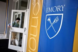Student arrested in alleged mass shooting threat at Emory photo