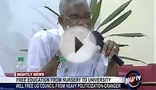 FREE EDUCATION FROM NURSERY TO UNIVERSITY