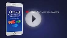 New App - Oxford Collocations Dictionary for Students of